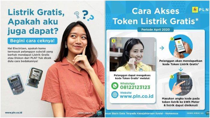 Cara Dapatkan Token Listrik Gratis, Akses Laman www.pln.co.id atau Hubungi via WhatsApp