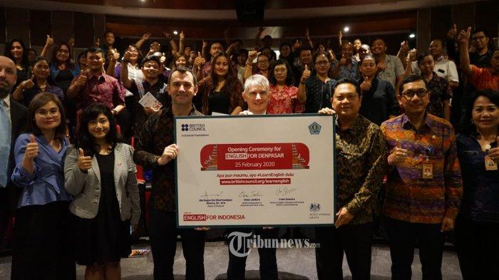 Gandeng British Council dan Kedubes Inggris, Rai Mantra Luncurkan Program English for Denpasar