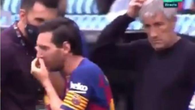 Benarkah?-Hubungan Lionel Messi dan Pelatih Barcelona Tak Akur