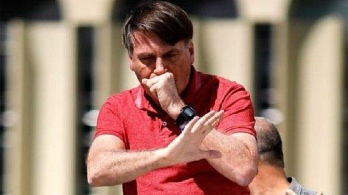 Positif Corona Setelah Remehkan Covid-19, Presiden Brasil Malah Lepas Masker & Ingin Jalan-jalan