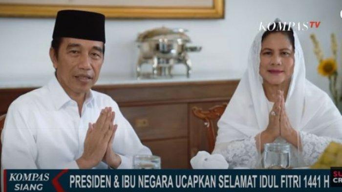 Presiden Jokowi di Hari Lebaran, Tidak Mudik & Tidak Gelar Open House, Salat Ied di Istana Bogor
