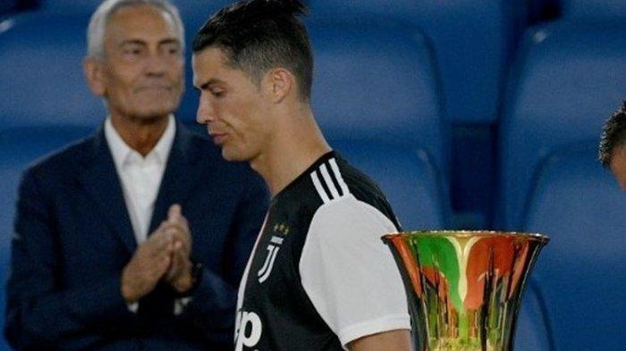 Begini Tampang Wajah 'Terserah' Cristiano Ronaldo Saat Diceramahi Pelatih Juventus