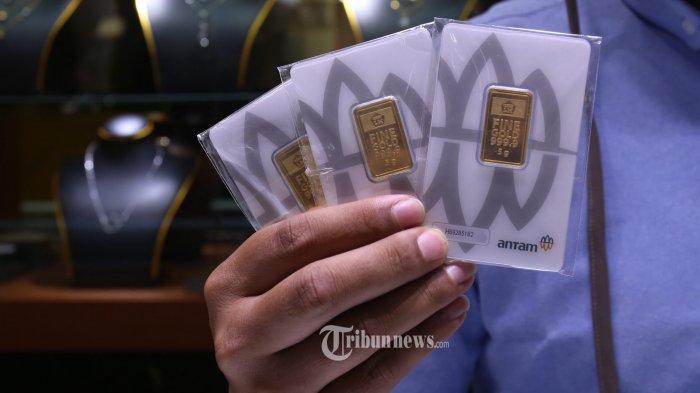 Harga Emas Antam Turun Lagi menuju Level Rp 1.030.000 per Gram