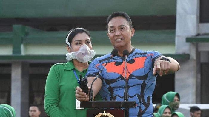 Jenderal TNI Andika Perkasa Ungkap Alasannya Istrinya Disorot karena Pakai Masker Seharga Rp10 Juta